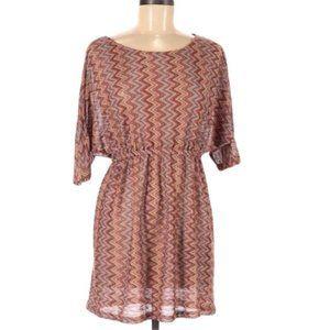 Grifflin Paris Dress M Multi-Color Chevron